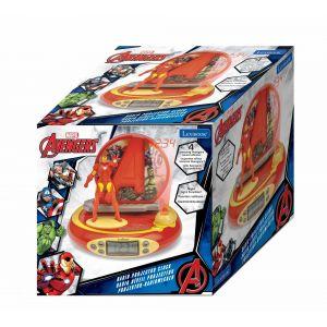 Lexibook Radio réveil projecteur Iron Man