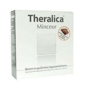 Théragreen Theralica Minceur Barre Chocolat Caramel 5 barres