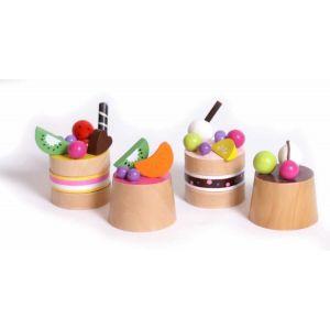 Legler Petits gâteaux aux fruits en bois