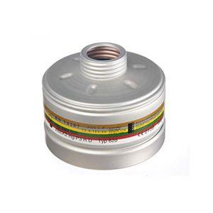 Dräger X plore Rd40 Filtre A2B2E2K2 HG P3 R D | Filtre avec raccord Standard fileté Rd40 | Recharge pour Masque de Protection Mono-F ltre | Certifié EN14387