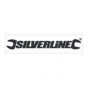 Silverline 675299 - Autocollant pour vitrine 40cm noir (extérieur)
