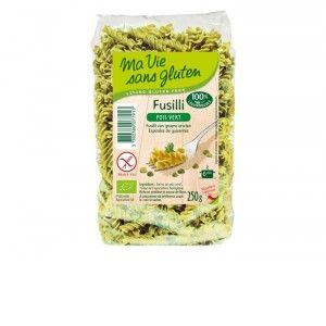 Ma vie sans gluten Fusillis pois vert 250gr