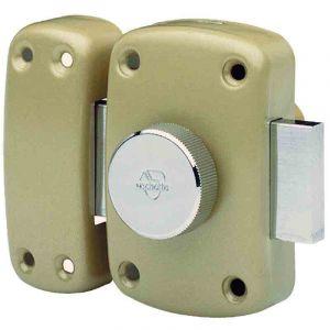 Vachette Verrou à bouton Cyclop - 40 mm