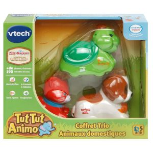 Vtech Tut Tut Animo - Coffret Trio Animaux domestiques
