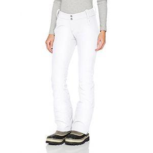 Columbia Sportswear 1761411 Pantalon de Ski Femme, Blanc, W36/R