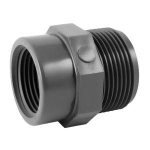 Codital Réduction PVC pression à visser MF 3/4-1/2 de - Catégorie Raccord PVC pression
