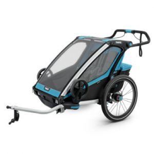 Thule Chariot Sport 2 Bike Trailer blue/black Remorques vélo enfant