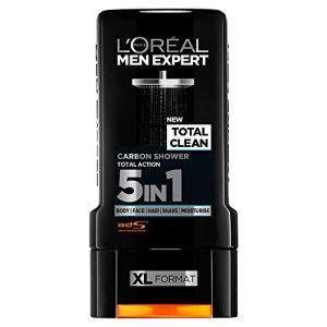 L'Oréal Men Expert Total Clean Carbon Shower Gel - 300 ml
