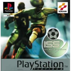 Iss Pro Evolution 1 Platinum [PSone]