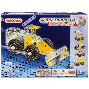Meccano 6024807 - Chargeuse de carrière 5 modèles