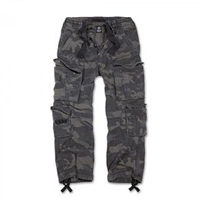 Brandit Pure Vintage Jeans/Pantalons Camouflage foncé XL