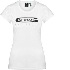 G-Star Raw T-shirt Raw Graphic Logo 20 Slim T-shirt blanc - Taille EU S,EU M,EU L,EU XS
