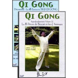 Coffret Qi Gong - Volumes 1 et 2