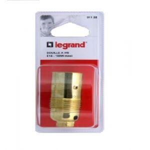 Legrand Douille E14 en métal sans bague - Accessoire luminaire