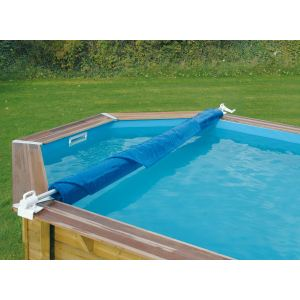 Ubbink 7150028 - Enrouleur de bâche de piscine amovible