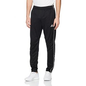 Adidas CE9036 Pantalons de Survêtement Homme, Noir/Blanc, FR : 2XL (Taille Fabricant : 2XL)