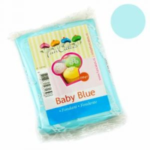 FunCakes Pâte à sucre - bleu ciel - 250g