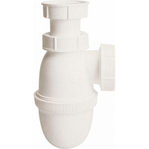 Nicoll Siphon lavabo blanc réglable Ø32 L211/0201001