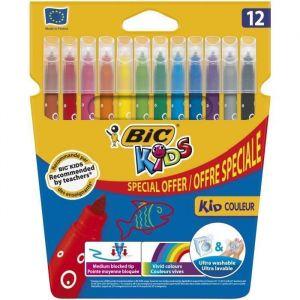 Bic Kids Couleur x12 - Feutres de Coloriage