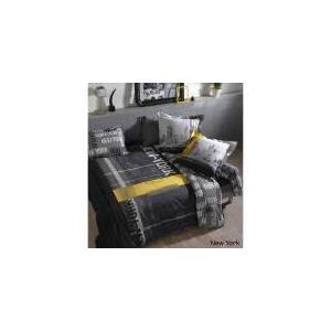 Linnea New York - Housse de couette et 2 taies 100% coton 57 fils (240 x 260 cm)