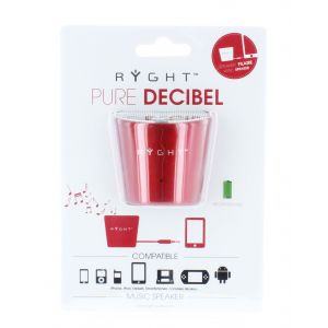 Ryght Pure Decibel - Enceinte MP3 filaire