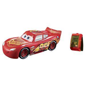 Mattel Cars 3 - Véhicule Flash Mc Queen avec bracelet de pilotage