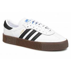 Adidas Sambarose W, Blanc (Ftwbla/Negbás/Gum5 000), 37 1/3 EU