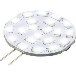 Renkforce Ampoule LED G4 9283c72b à broches 3 W = 30 W blanc froid (Ø x L) 35 mm x 47 mm EEC: A 1 pc(s)