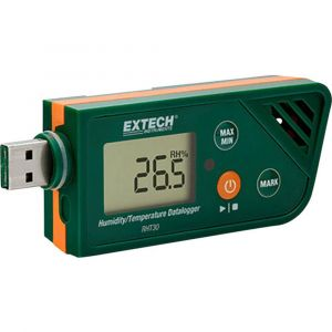 Extech Enregistreur de données multifonctions RHT30 Unité de mesure humidité de l'air, température -30 à +70 °C 0.1 à 99