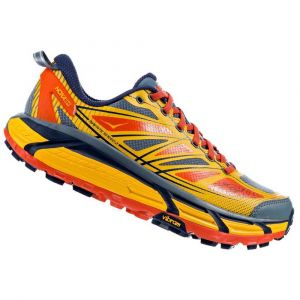Hoka One One Mafate Speed 2 Chaussures de trail Homme, old gold/moonlight ocean US 12 | EU 46 2/3 Chaussures trail