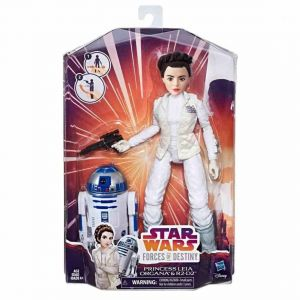 Hasbro Figurine Star Wars Forces Of Destiny Leia et R2d2