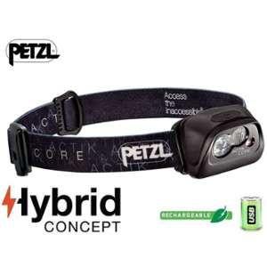 Petzl Lampe Frontale Actik Core Noir