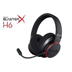 Creative Sound BlasterX H6 - Casque de jeu 7.1 USB pour PS4, Xbox One, Nintendo Switch et PC