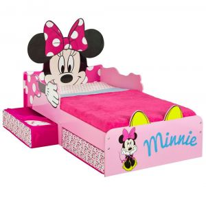 Worlds Apart Lit P'tit Bed Design Minnie Mouse (70 x 140 cm)