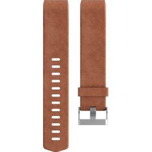Fitbit Bracelet cuir (L - marron) pour Charge 2