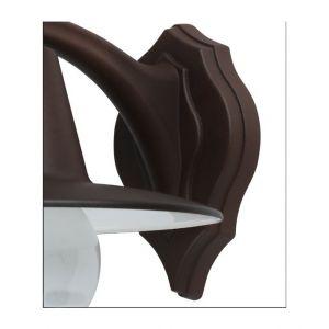 Jp ryckaert Applique Exterieur métal marron epoxy eclairage terrasse