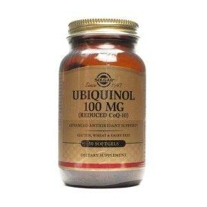Solgar Ubiquinol 100 mg 50 Gélules