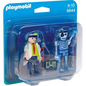 Playmobil 6844 - Pack duo professeur et robot
