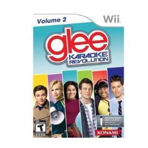 Glee Karaoke Revolution : Volume 2 + Microphone [Wii]