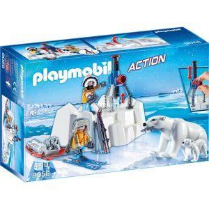 Playmobil 9056 Action - Explorateurs avec ours polaires