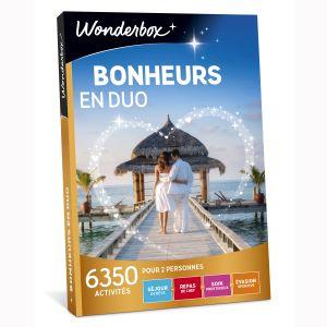 Wonderbox Bonheurs en duo - Coffret cadeau 6350 activités