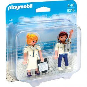 Playmobil 9216 - Duo pack Hôte et hôtesse de croisière