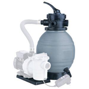 Ubbink 7504618 - Kit de filtration à sable Poolfilter Set 300 3,0 m3/h - Vanne top 4 voies