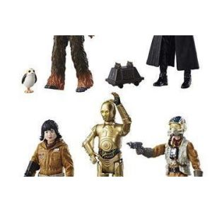 Hasbro Star Wars Force Link - Figurines Episode 8 Col Teal W1 (12 pièces)