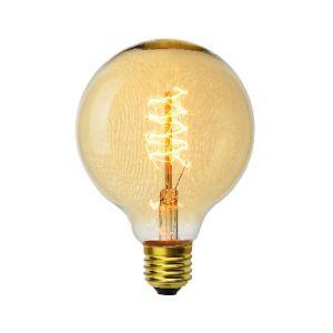 Vito-lighting Ampoule décoart incandescente vintage Edison G95 globe 40W E27 2350K
