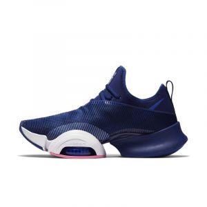 Nike Chaussure d'entraînement fractionné haute intensité Air Zoom SuperRep pour Homme - Bleu - Taille 42.5 - Male