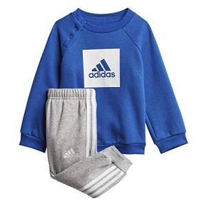 Adidas Survêtement 3s logo Bleus - Taille 1-2 Ans
