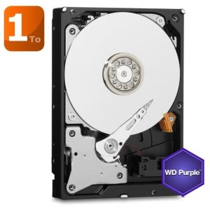 "Western Digital WD10PURX - Disque dur WD Purple 1 To 3.5"" SATA III"