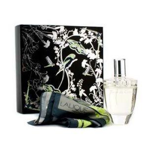 Lalique Fleur de Cristal - Coffret eau de parfum et foulard