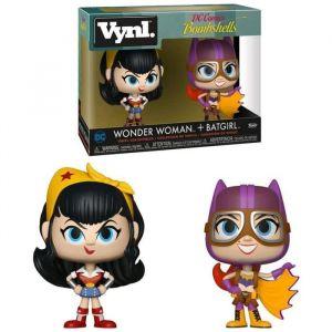 Funko Pack de 2 Figurines Vynl: Wonder Woman & Batgirl